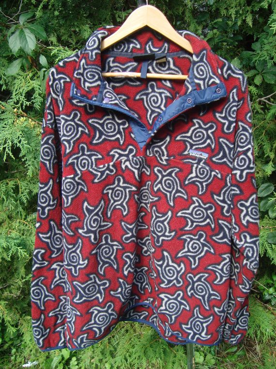 d214e3783a6 Sweet Vintage Patagonia Fleece 90s Fleece Pullover Patagonia Multi ...