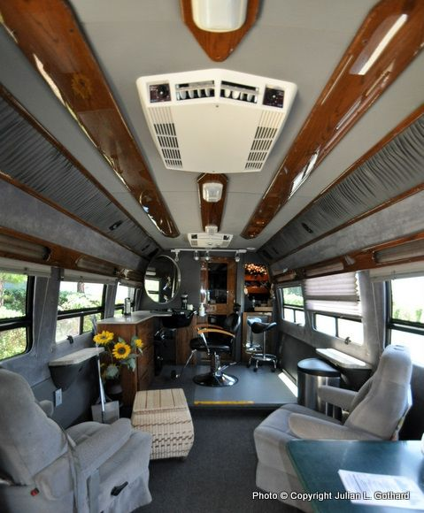 Interior Of The Hair I Am Mobile Salon