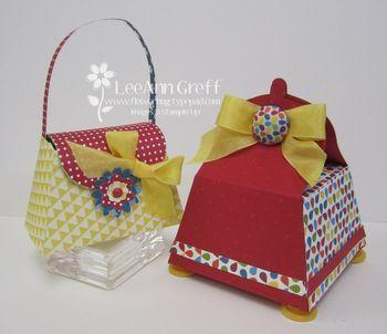 Petite purse boxes...tutorial