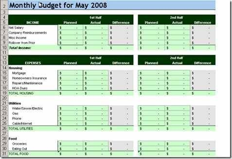 10 Free Household Budget Spreadsheets For 2020 Budget Spreadsheet Household Budget Template Household Budget