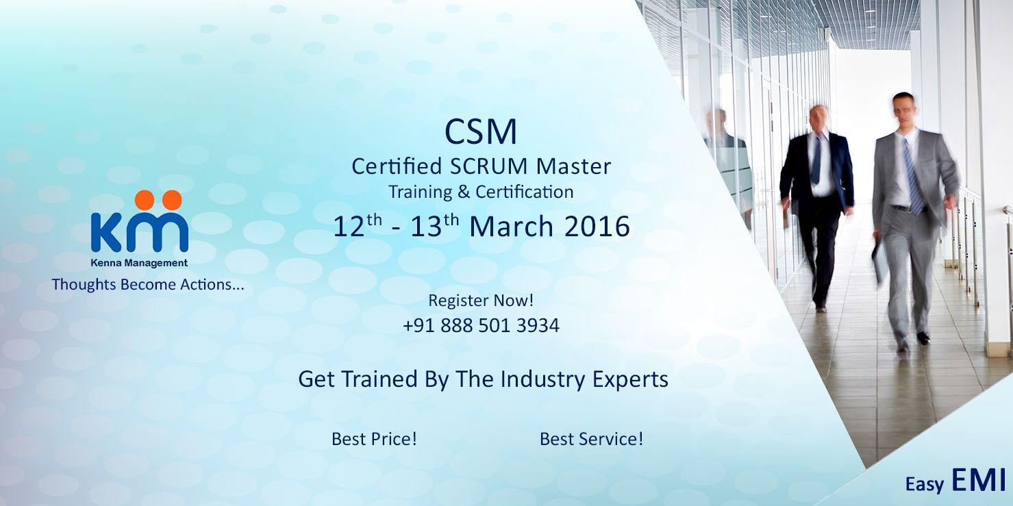 Get yourself certified scrum master scrum master scrum