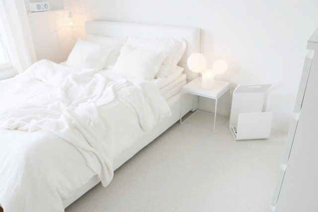 My lovely white bedroom! <3 <3 <3