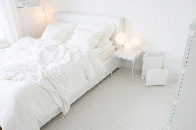 My lovely white bedroom! <3 <3 <3