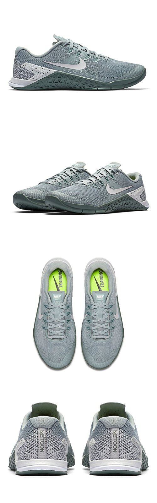 46df9dc9eb158a NIKE Women s Metcon 4 Training Shoe Light Pumice Vast Grey Clay Green White  Size 9 M US
