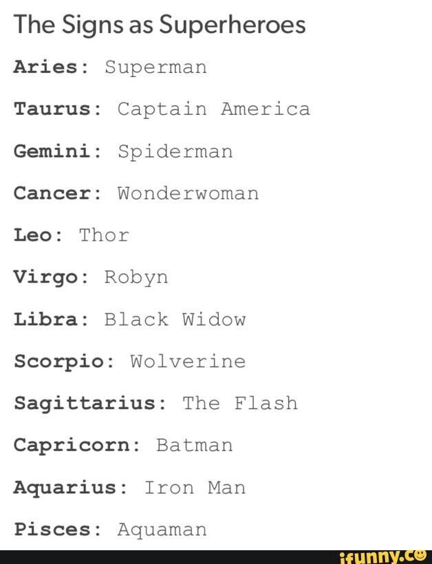 Signs As Superheros I M A Capricorn What Are You Zodiac Zodiac Signs Zodiac Sign Libra