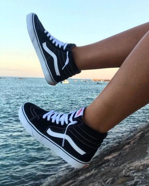 The Sk8-Hi Van's legendary top with lacing inspired by the classic ...