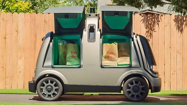 Walmart va tester des véhicules électriques autonomes pour