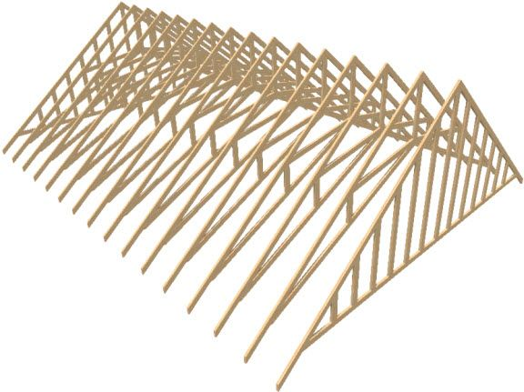 Creating A Vaulted Ceiling And Scissor Trusses