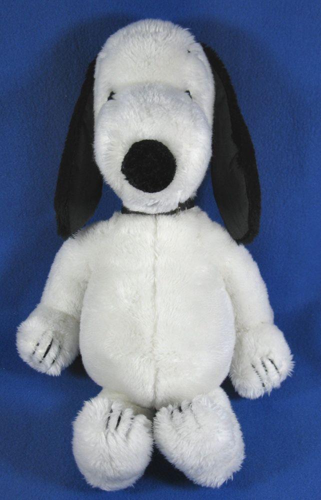 Vintage 1968 Plush 19 Snoopy Dog Peanuts Character Stuffed Animal