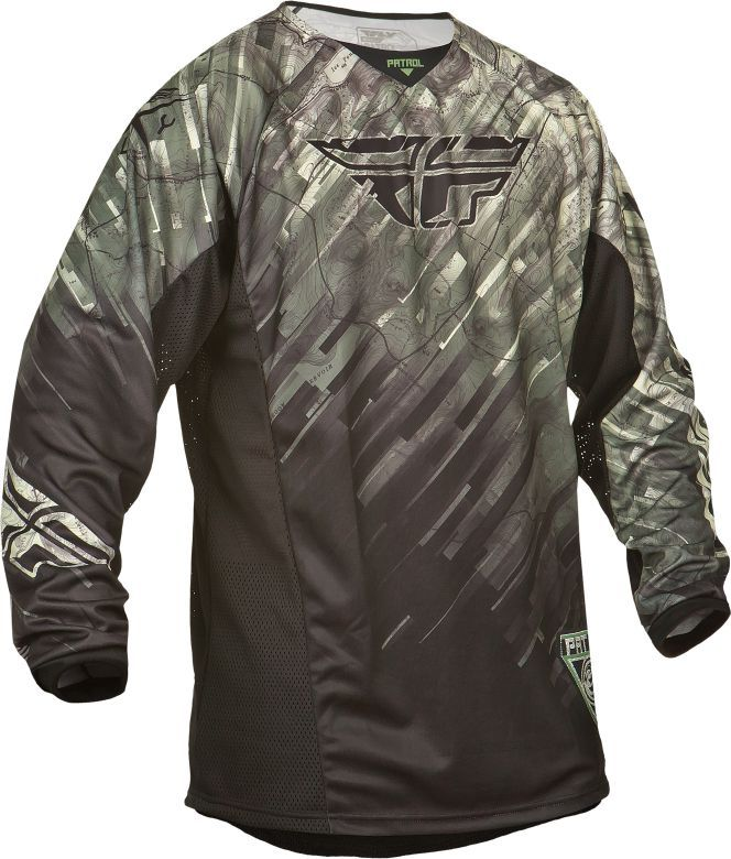 Fly Racing Motorcycle Dirtbike Offroad Men/'s Patrol XC Jersey