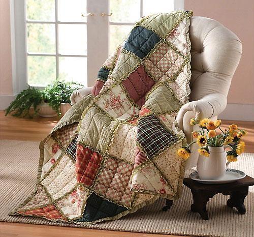 Quilts, Rag Quilt, Quilt