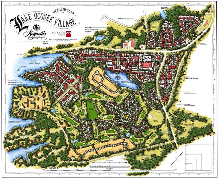 Reynolds Lake Oconee Village Master Plan Lake oconee