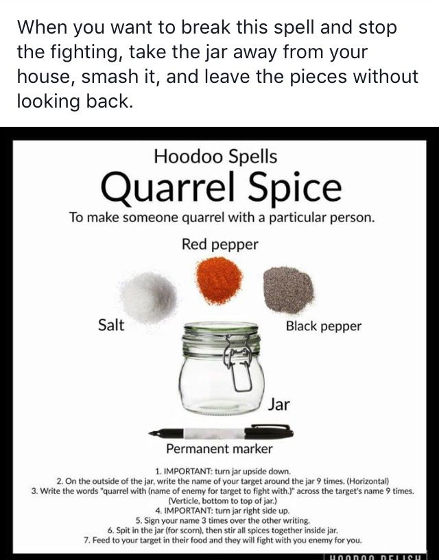 A spell to get someone to go after your enemy 3 | Wicca