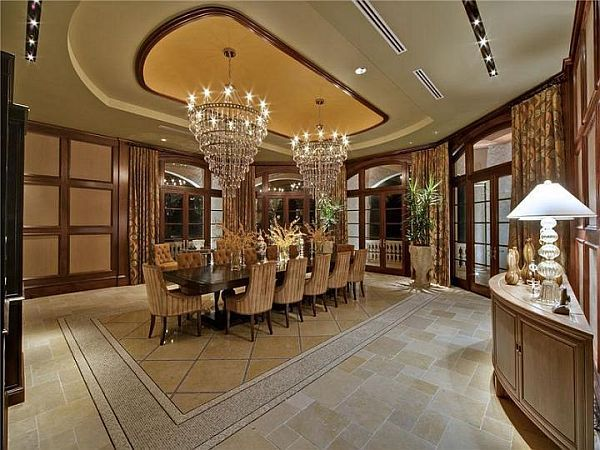 beautiful dining room | dream home | pinterest | mansion interior