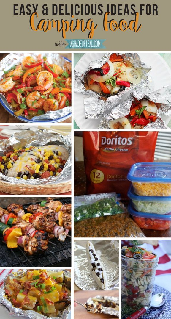 Easy Delicious Camping Food Ideas