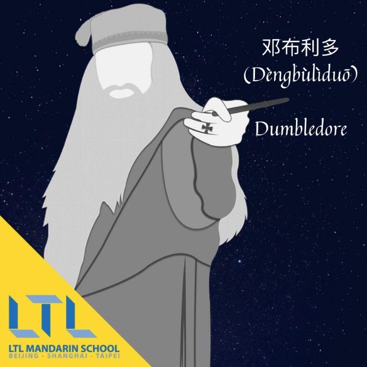 Dumbledore In Chinese Chinese Language Learning Learn Chinese Chinese Language
