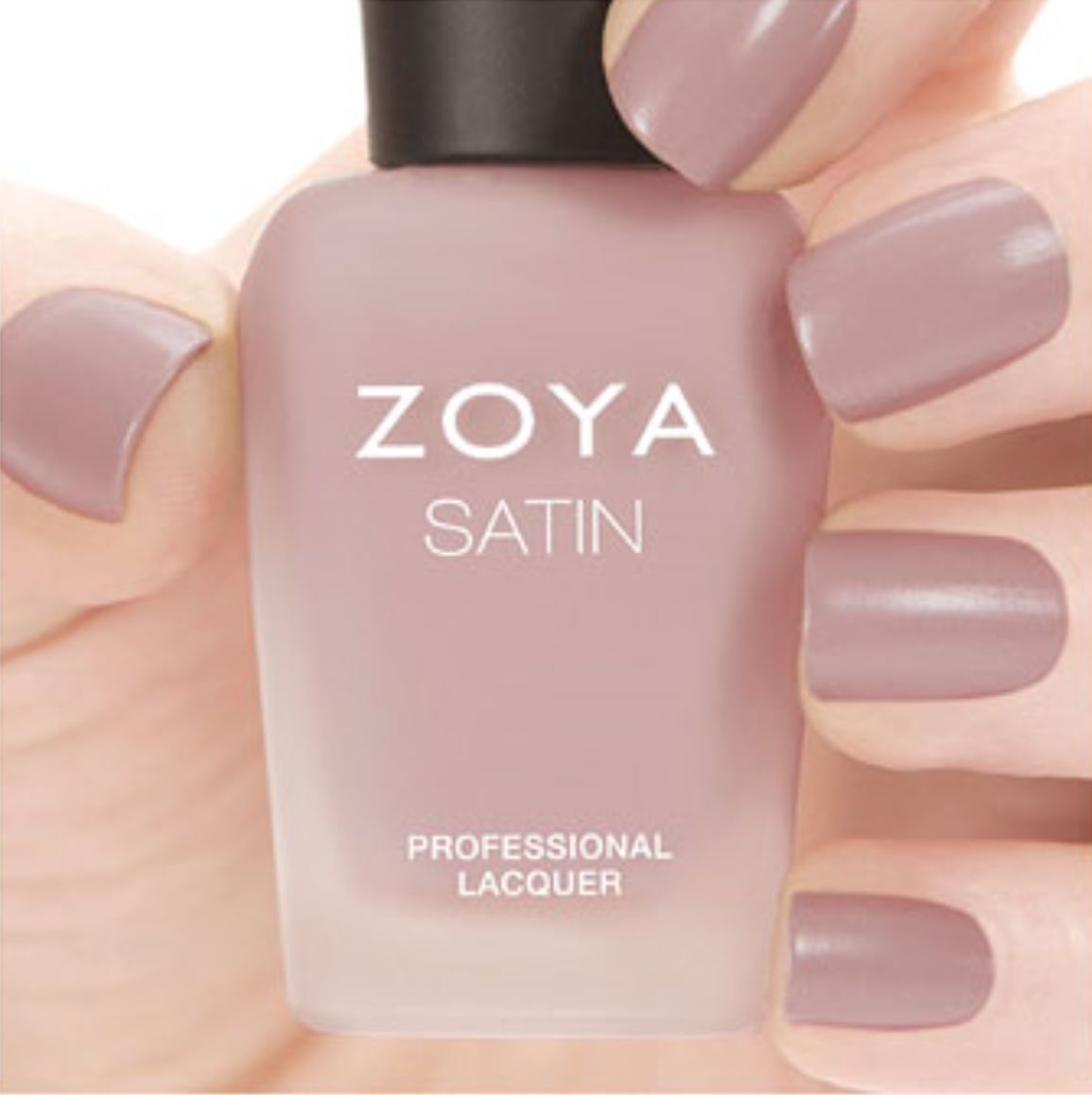 Zoya Zp780 Brittany Naturel Satins Collection Rose Mauve Matte Nail ...