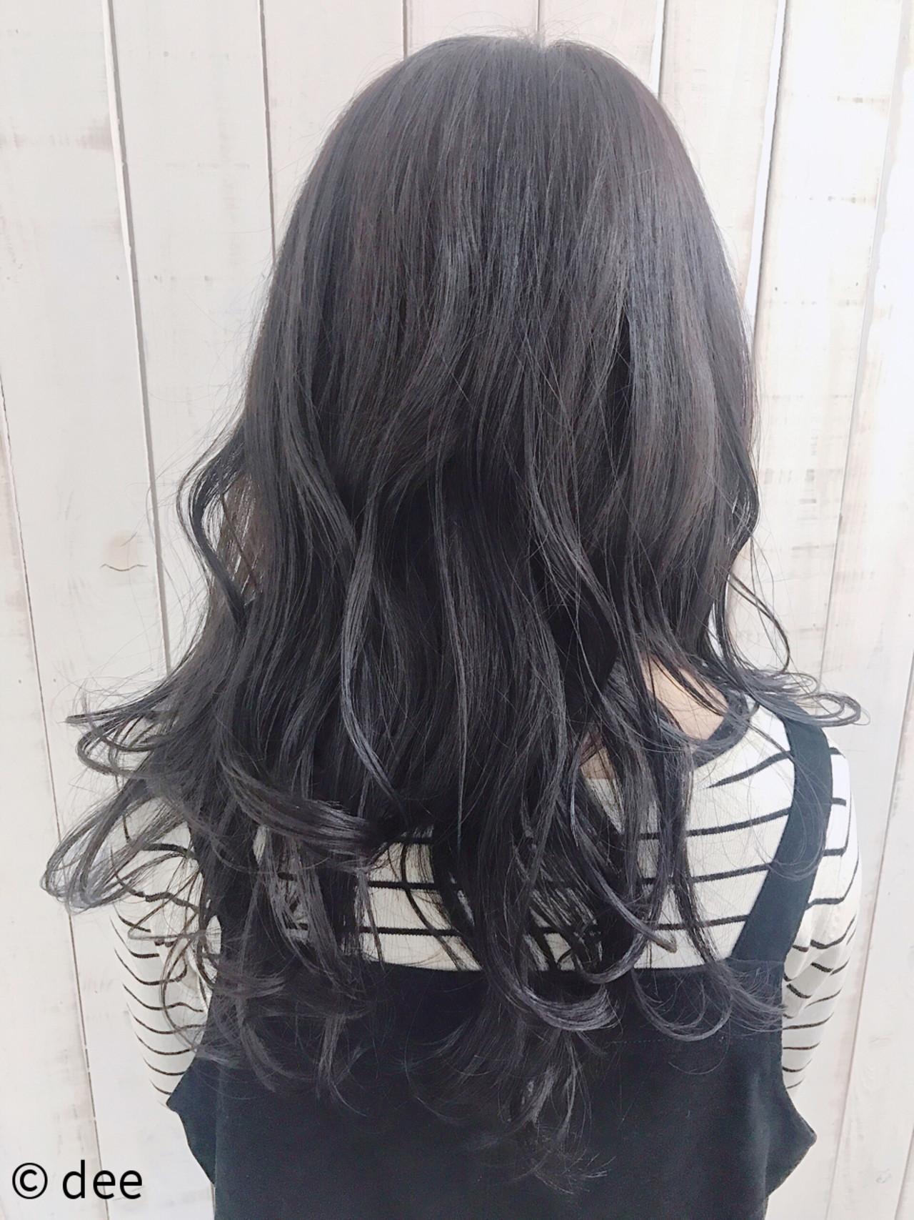 最旬グラデーションカラーは黒髪ベースが鉄則 レングス別スタイル8選