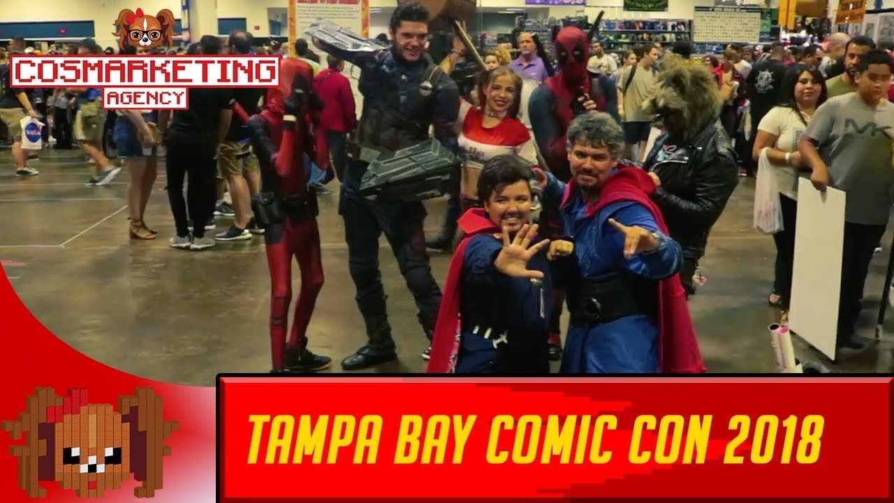 Tampa Bay Comic Con (TBCC) | CosMarketing Agency
