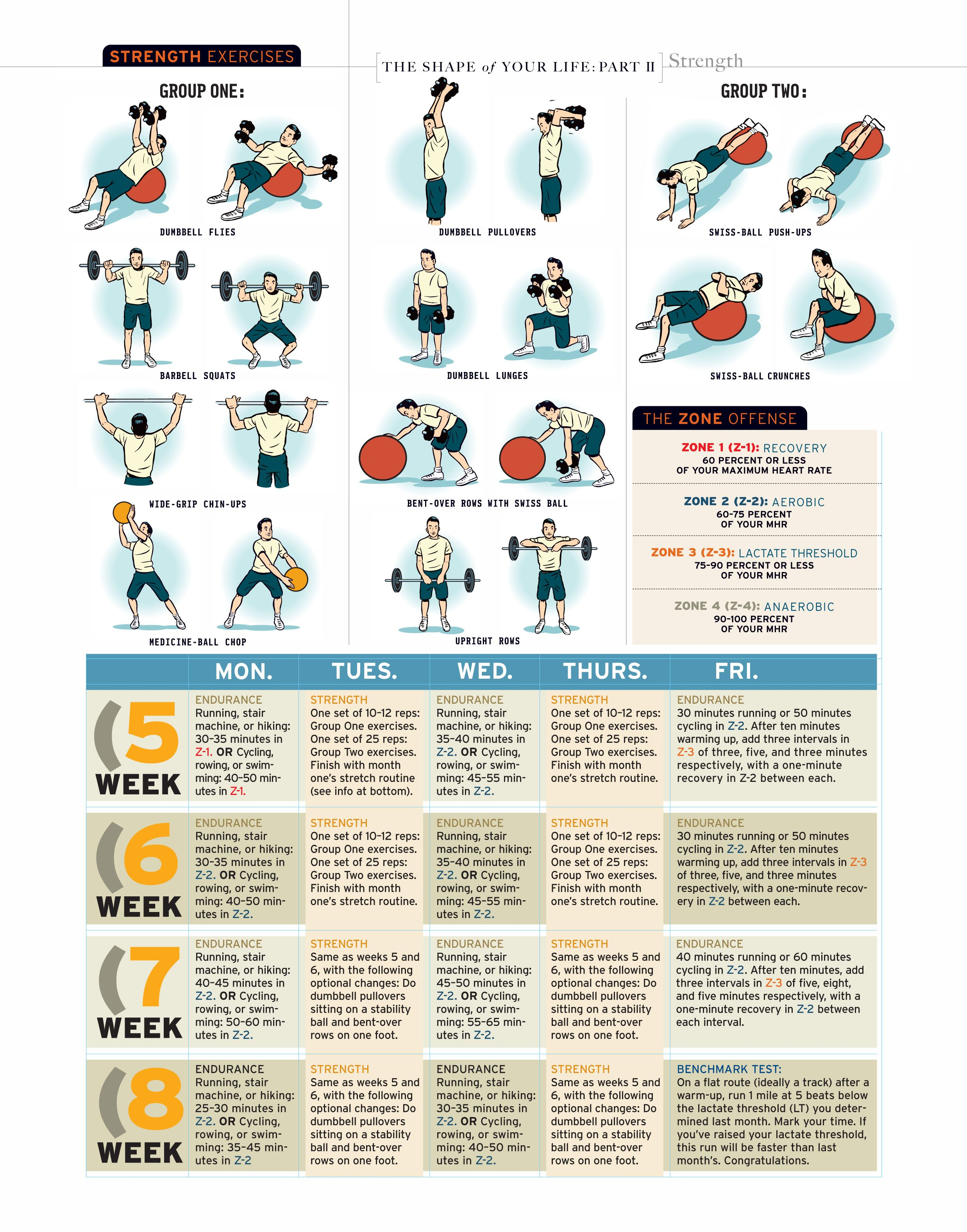 Month 2 Paul Chek If Your Core Is Deficient Your Body Has Nothing To Anchor To Workout Guide Strength Workout Swiss Ball