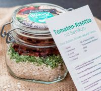 risotto im glas verschenken rezeptideen pinterest risotto verschenken und glas. Black Bedroom Furniture Sets. Home Design Ideas