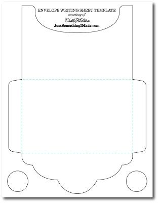 Envelope Writing Sheets Free Images Just Something I Made Card Envelopes Envelope Template Photo Envelope