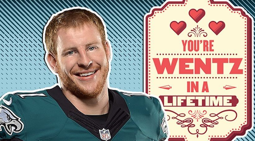 Philadelphia Eagles Valentines Will Have You Seeing Green Sj Magazine Philadelphia Eagles Eagles Daddy Day