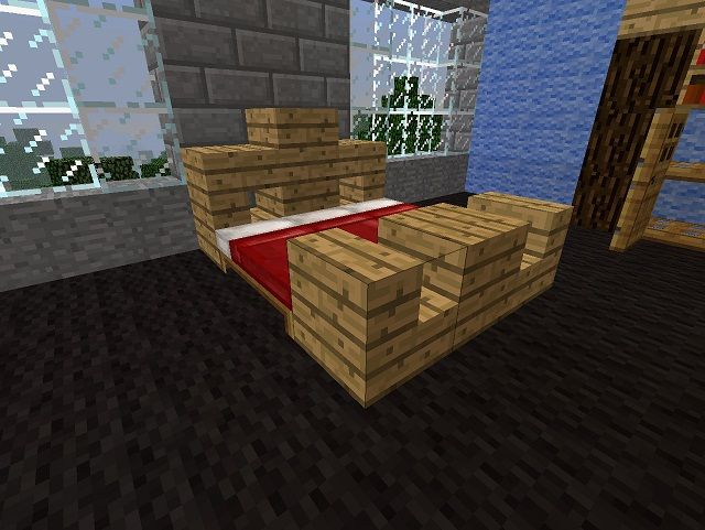 Bedroom Furniture Minecraft a nice bed for minecraft using the actual beds! | minecraft builds