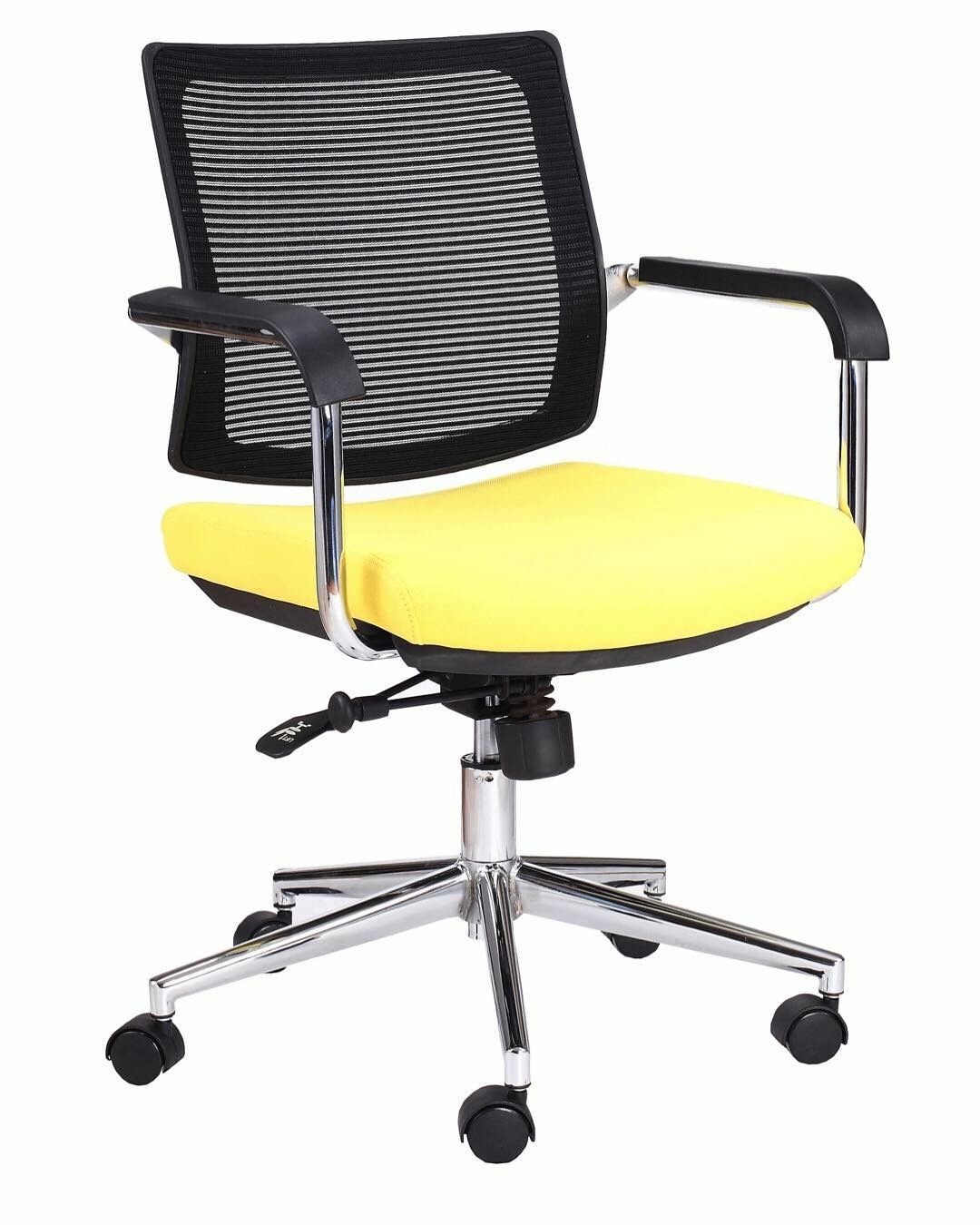 Cue Medium Back With Arms Commercial Office Furniture