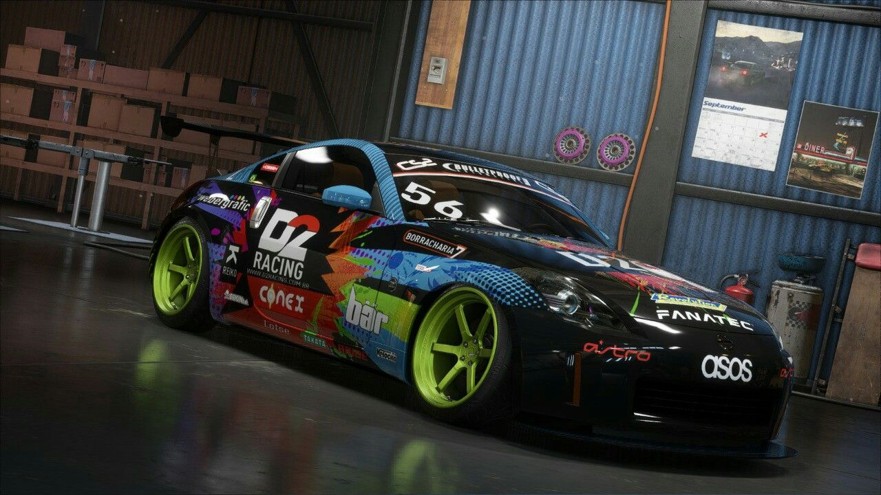 Nfs Payback Bruno Bar Drift 350z With Images Car Ramps Car