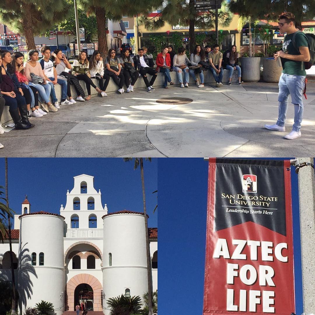 Avid2018sbhs Visiting San Diego State Sbhscollegeandcareercenter Sbhs Cccenter Collegevisit Sbhsdons College Visit Visit San Diego San
