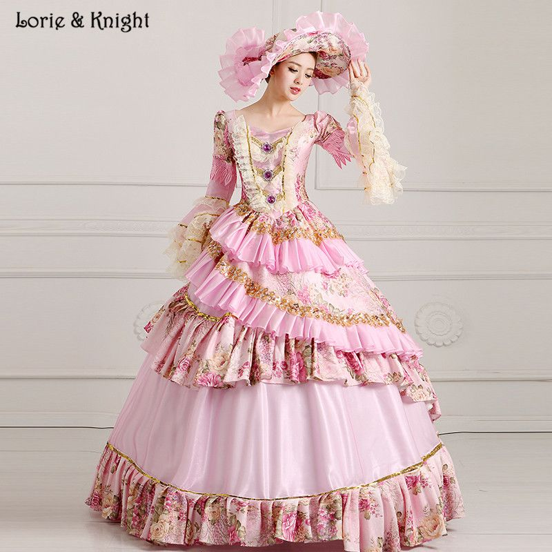 d288e72f21e8 Princess Sissi & Marie Antoinette Dress Inspired Royal Ball Gowns  Quinceanera Dress Bridal Masquerade Ball Gown PINK
