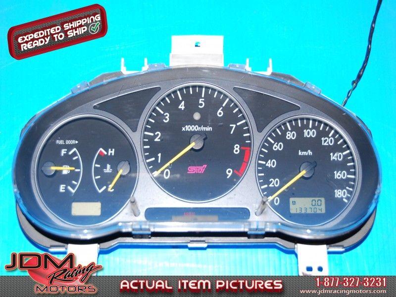 subaru wrx sti 2001 2002 v7 manual gauge cluster km h pinterest rh pinterest com subaru impreza wrx 2002 manual pdf 2002 subaru impreza wrx repair manual