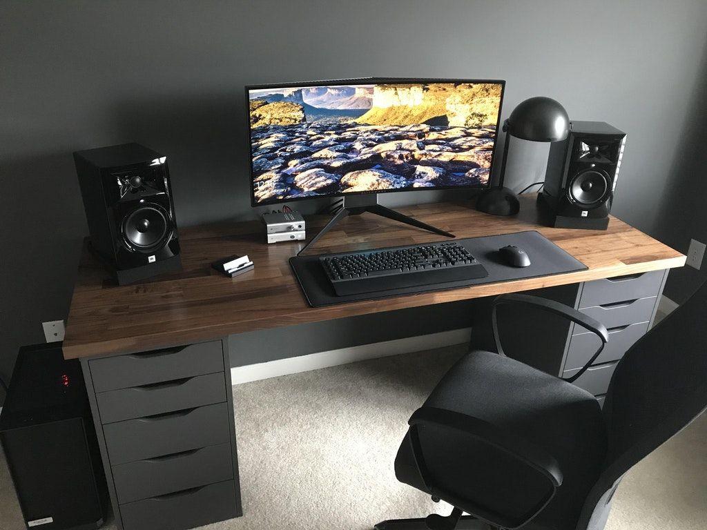 Links Com Maior Pontuacao Battlestations Diy Computer Desk Home Office Setup Home Office Design