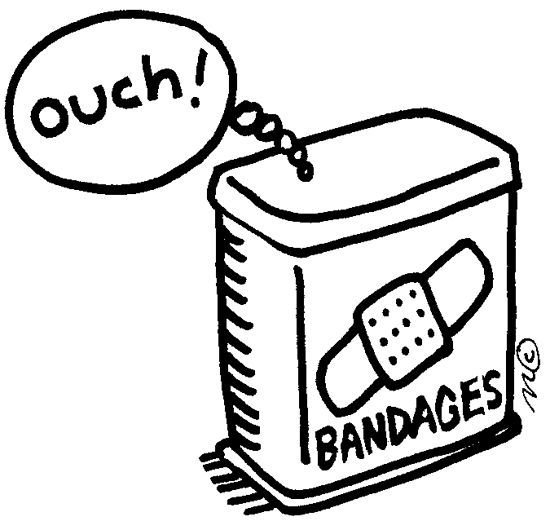 Bandaid Band Aid Clip Art Image 2 Clip Art Heart For Kids