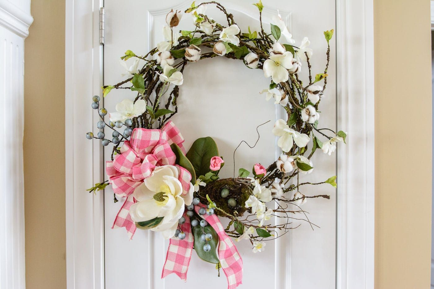 Photo of How to Make a Spring Magnolia Wreath | Polka Dot Chair