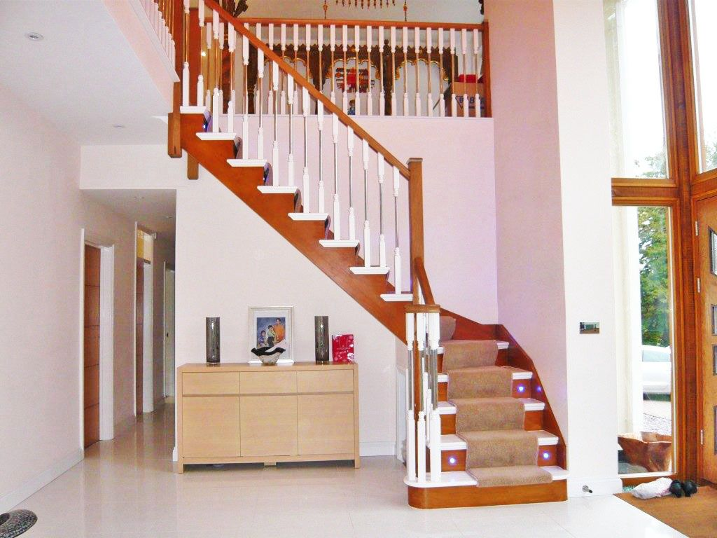 A Classic Design Of Winder Stair Way Thats Been Around For A While