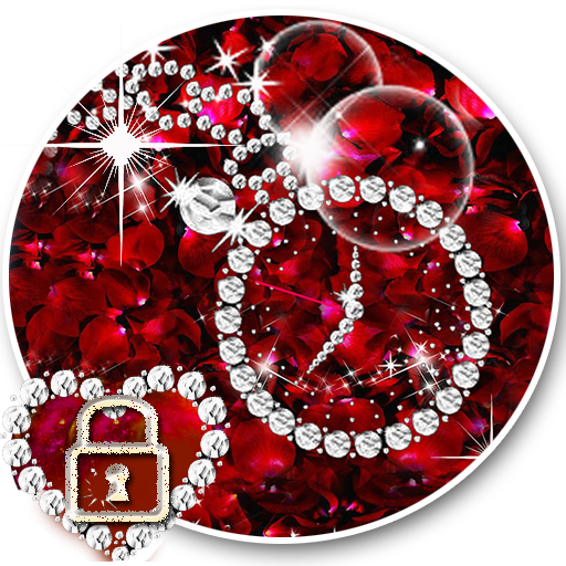 rose diamond love shining tema Apk 1.1.3 Download (With