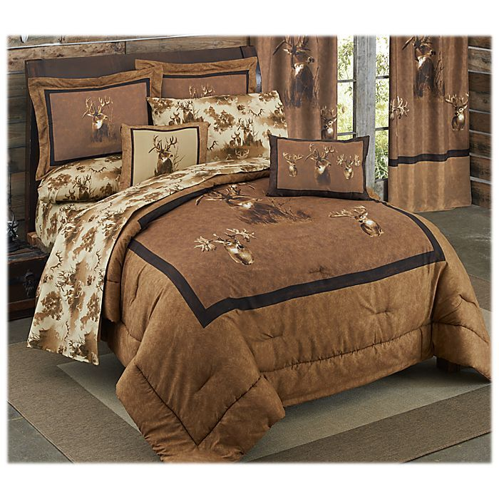 King Of Bucks Bedding Collection Comforter Set Bass Pro Shops