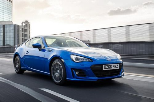 Subaru Brz Facelifted With New Suspension And Engine Tech For Subaru Brz Subaru Affordable Sports Cars