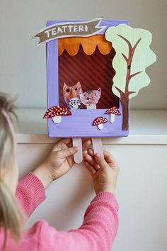 UKKONOOA: Pieni pahvinen teatteri / Little Carboard Box Theatre                                                                                                                                                                                 More