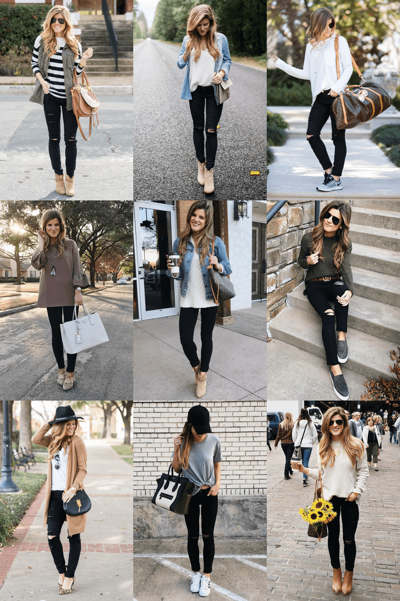 6a7c40a49e8 Figuring out what to wear with black jeans can be simple, but it's not  always easy. Head this way to discover 30+ outfit ideas with black jeans!