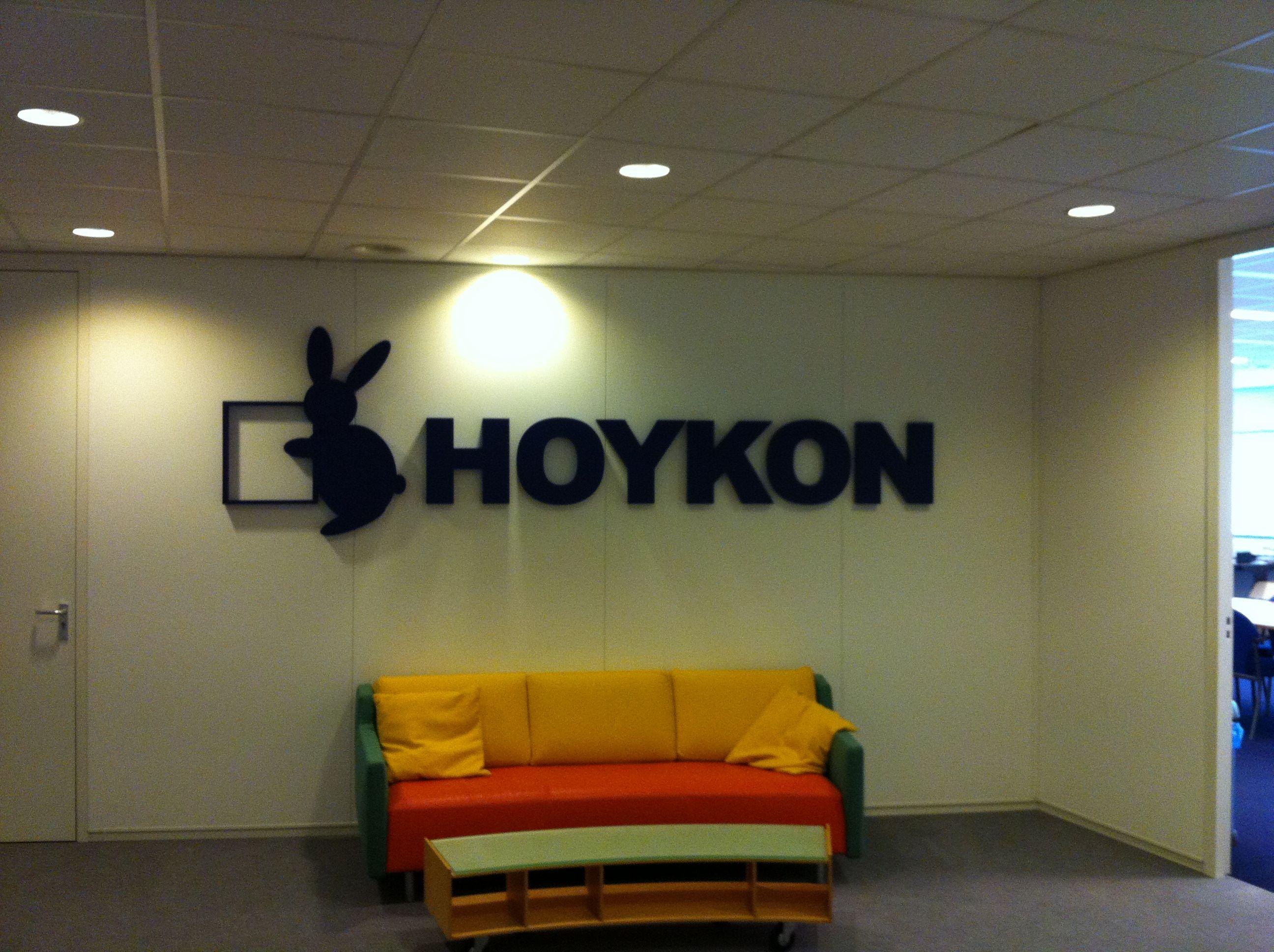 Voor Hoykon In Rotterdam Diverse Piepschuim Logo S Geleverd In Diverse Formaten Allemaal Geheel Uit Xps Gesneden
