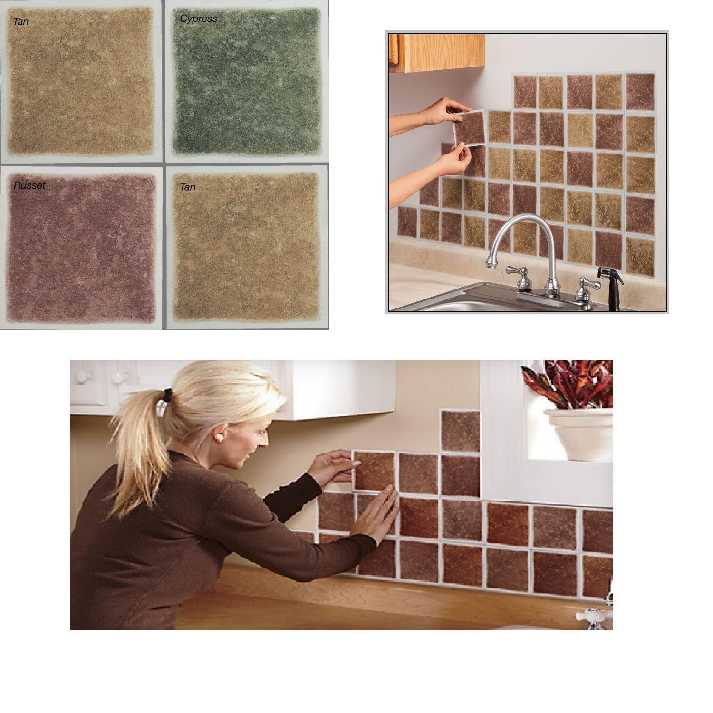Details About Vinyl Wall Tiles Peel N Stick Decorative Bathroom Kitchen Decor Planks 27 Pack Vinyl Wall Tiles Wall Tiles Room Wall Tiles