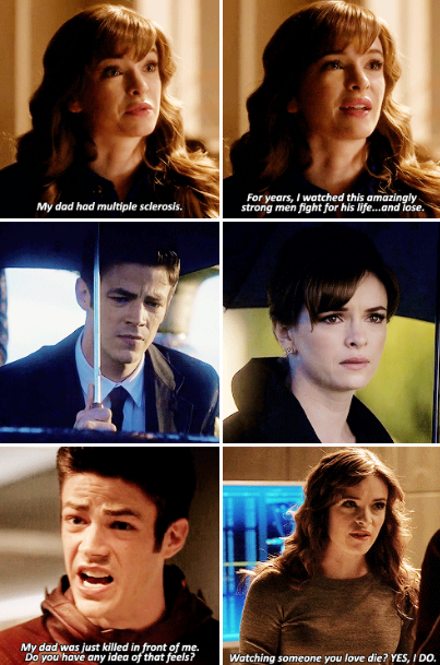 """The Flash - """"Barry, I know how cold, angry and distant that can make you."""""""