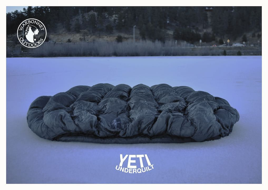 warbonnet offers the yeti underquilt in both 3 season and 4 season