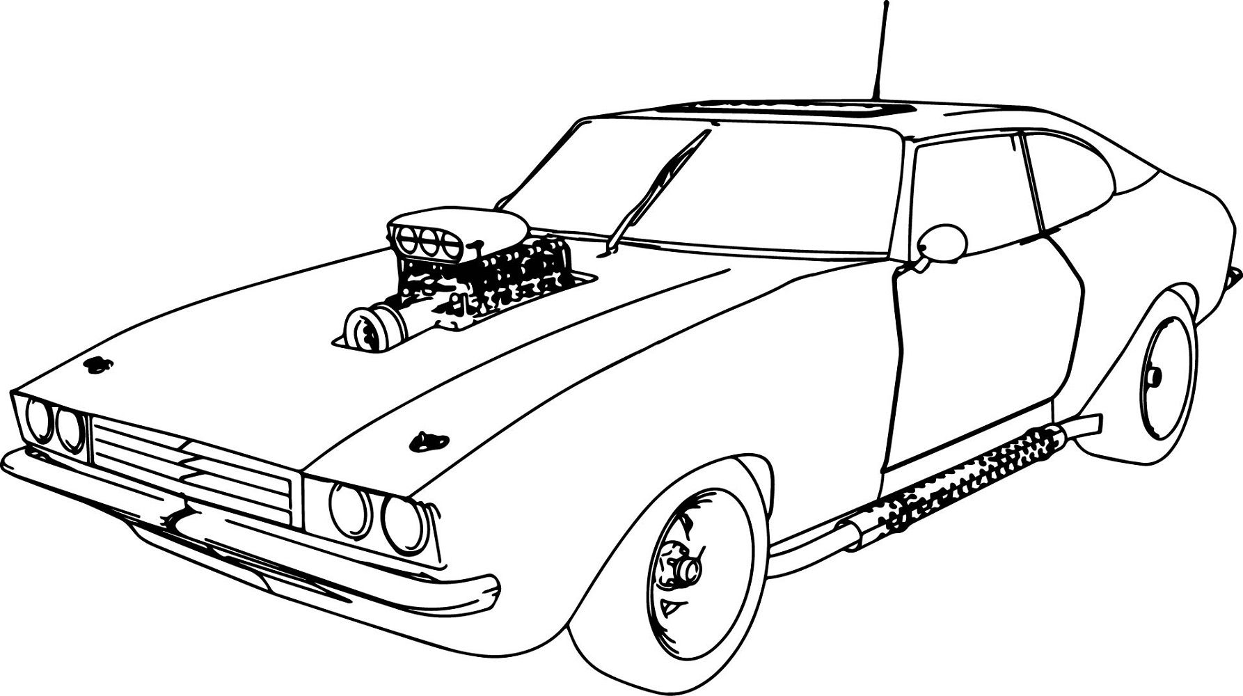 Fast And Furious Coloring Pages Muscle Car Educative Printable Race Car Coloring Pages Cars Coloring Pages Sports Coloring Pages