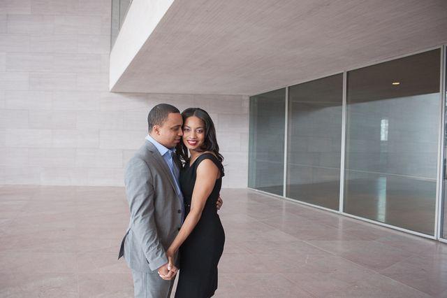 Real Engagements {Washington D.C.}: Ashley & Nathaniel! - Blackbride.com