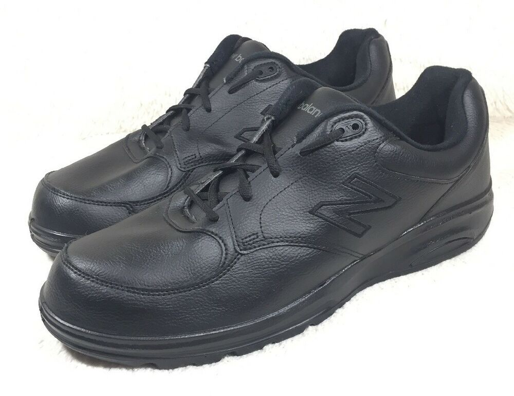 Nwob New Balance 674 Shoes Mens Black Postal Walking Leather
