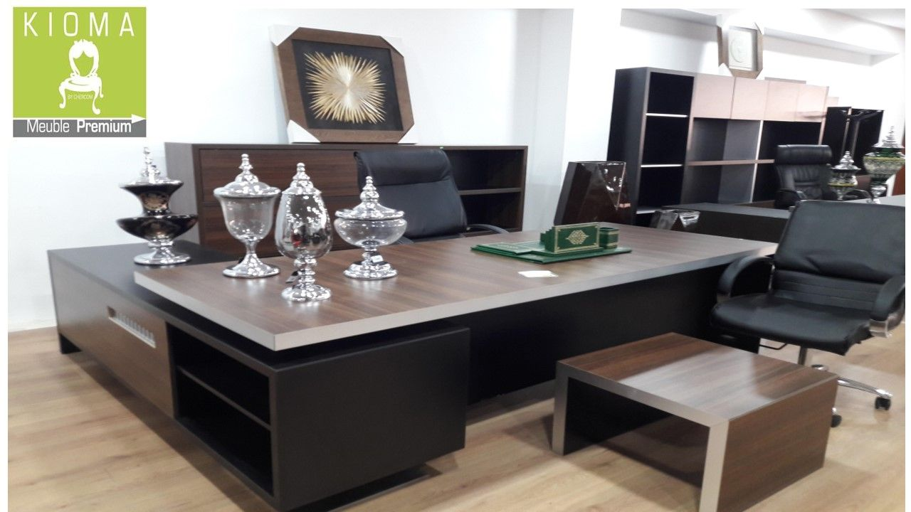 Bureau Prestige Kioma Meuble Maroc In 2020 Home Decor Office Desk Furniture